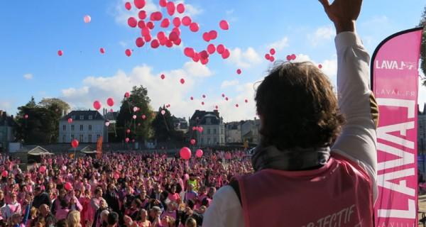 Mobilisation autour du cancer : Les foulées d'octobre rose 1/2