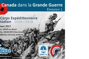 Le Canada dans la Première Guerre mondiale : le Corps Expéditionnaire Canadien