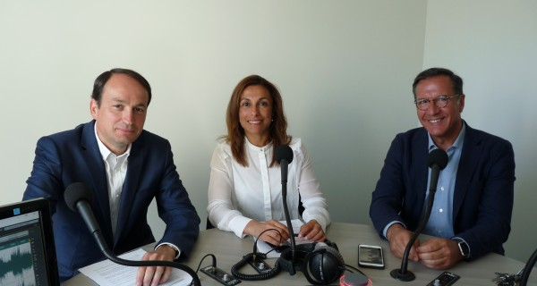Samia Soultani, Guillaume Chevrollier et Yannick Favenec, candidats UDI/LR