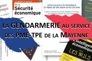 L'Intelligence économique (IE), colonel David Bièvre de la gendarmerie nationale