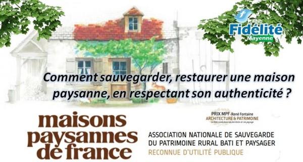 L'Association Maisons Paysannes de France