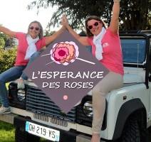 Anne Lecomte et Caroline Bozetto au trophée Roses des sables
