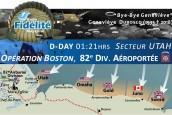 UTAH BEACH, 6 juin 1944, 01h21 : La 82e American Airborne s'infiltre en zone occupée