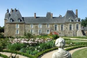 Catherine Cauchois en son chateau des ARCIS