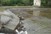 Les écourues sur la Mayenne