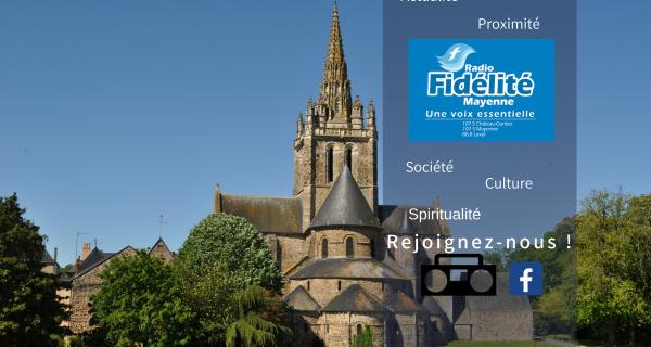 Vous aimez Radio Fidélité Mayenne ? Faites la découvrir à vos amis !!!