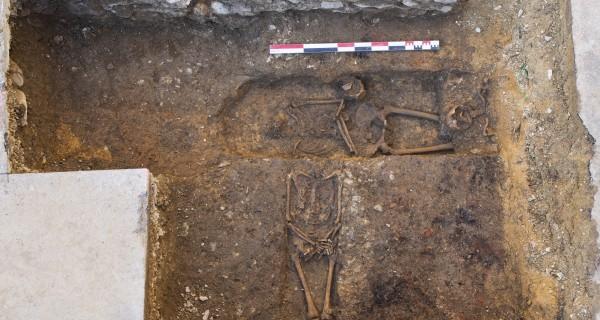 Hugo Meunier, archéologue pour la ville de Laval