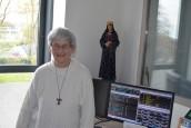 Sœur Bernadette Moriau miraculée de Lourdes, elle est venue témoigner en Mayenne