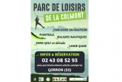 Le parc de Loisirs de la Colmont à Gorron