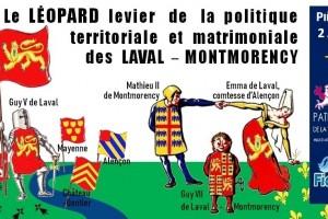 Le «Léopard d'or» de la famille Laval-Montmorency – Acte 1