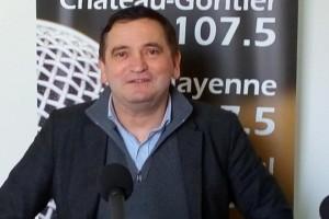 Pascal Blouet commissaire priseur de l'hôtel des ventes de Mayenne