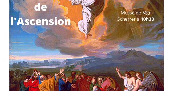 Ascension 2020, messe retransmise en direct à 10h30 depuis la chapelle de la maison diocésaine