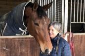 Sylvie Championne d'équitation