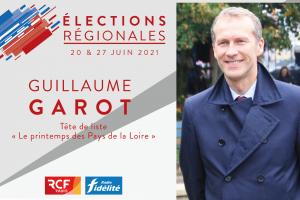 Guillaume Garot, mène la liste «Le Printemps des Pays de la Loire».