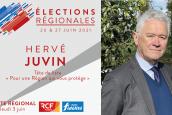 Hervé Juvin, tête de liste du RN pour les régionales en Pays-de-la-Loire