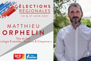 Le député de Maine-et-Loire Matthieu Orphelin, «L'écologie ensemble, solidaire et citoyenne»